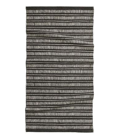 Х/б коврик (Серый/Антрацитовый)