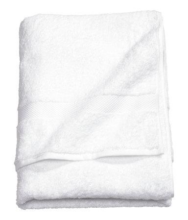 Полотенце для душа (Белый)