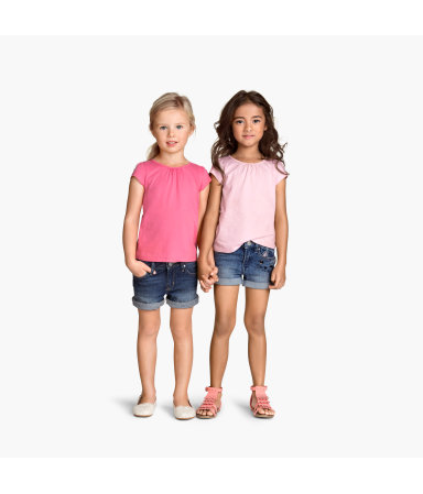 2 трикотажных топа (Розовый)
