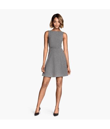 Платье без рукавов (Темно-синий)