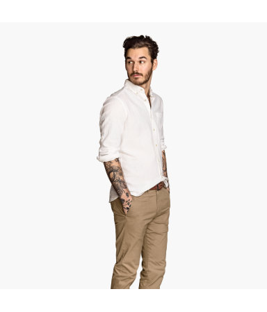 Рубашка Regular fit (Белый)