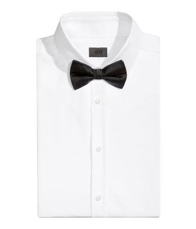 Шелковый галстук-бабочка (Черный)