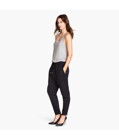 Брюки для бега и трикотажные брюки