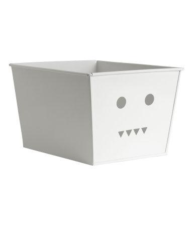 Металлический ящик (Белый)