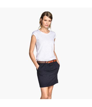 Короткая юбка (Синий)
