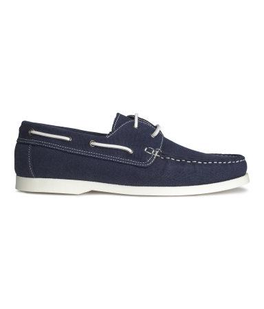 Яхтенные туфли (Темно-синий)