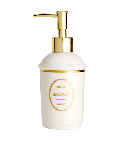 Емкость для жидкого мыла (Белый)
