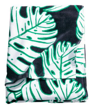 Пляжное полотенце (Черный)