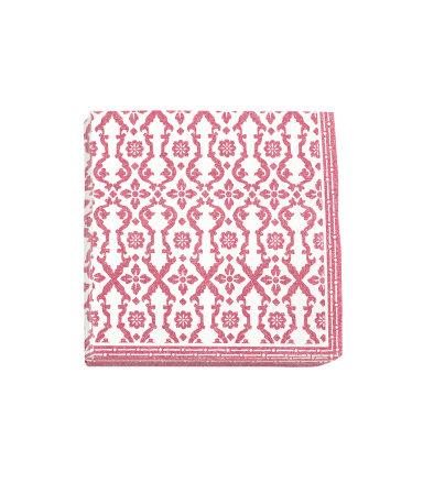 Бумажные салфетки (Розовый)