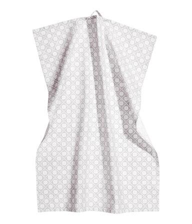 Кухонное полотенце (Светло-серый)