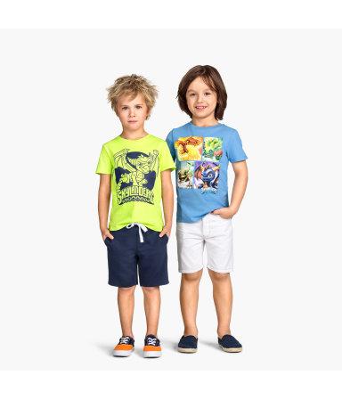 2 футболки (Зеленый лайм/Скайлендеры)