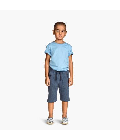 Байковые шорты (Темно-синий)