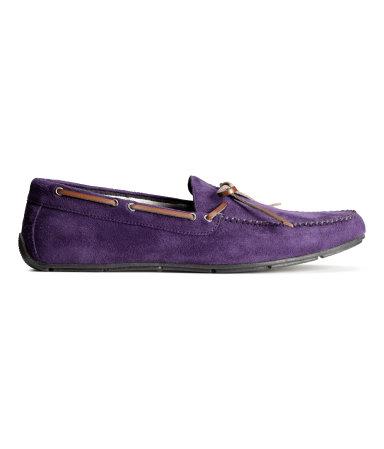 Лоферы (Фиолетовый)
