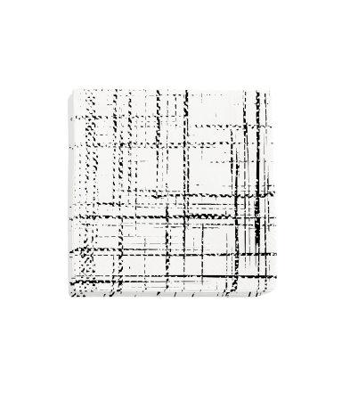 Бумажные салфетки (Белый/Узоры)