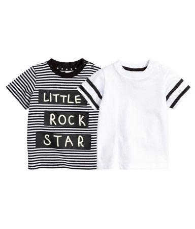 2 футболки (Черный)