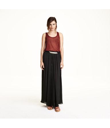 Широкая юбка (Черный)