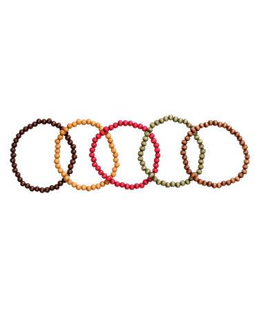 5 браслетов (Разноцветный)