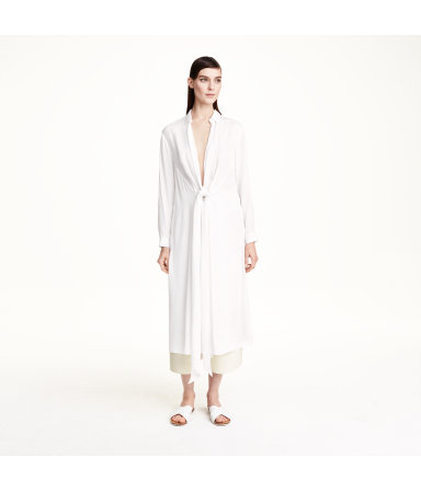 Длинная рубашка (Белый)