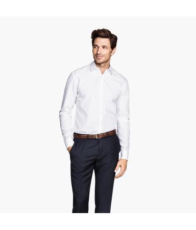 Рубашка, х/б высшего качества (Белый)