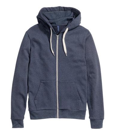 Куртка с капюшоном (Темно-синий)