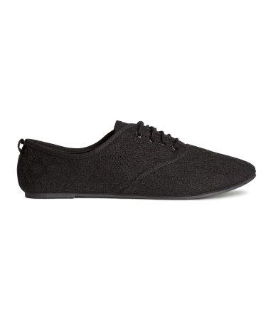 Ботинки (Черный/Кружева)
