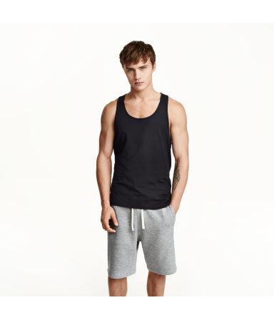Спортивные шорты (Светло-серый)