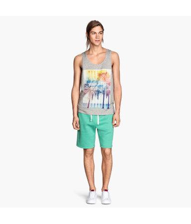 Спортивные шорты (Мятно-зеленый)