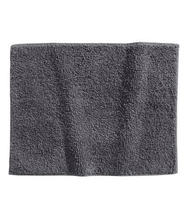 Коврик для ванной (Темно-серый)