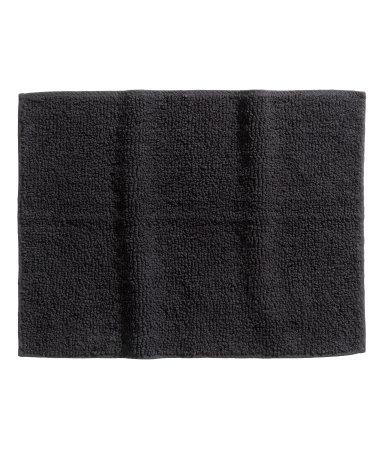 Коврик для ванной (Черный)