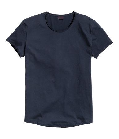 Х/б футболка (Темно-синий)