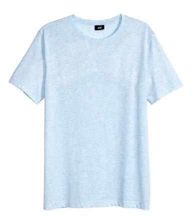 Базовая футболка (Голубой)