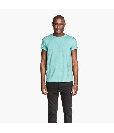Базовая футболка (Мятно-зеленый)