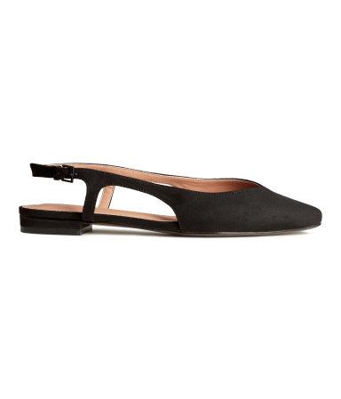 Туфли шанель (Черный)