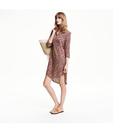 Платье-туника (Роз. пудра/Рисунок)