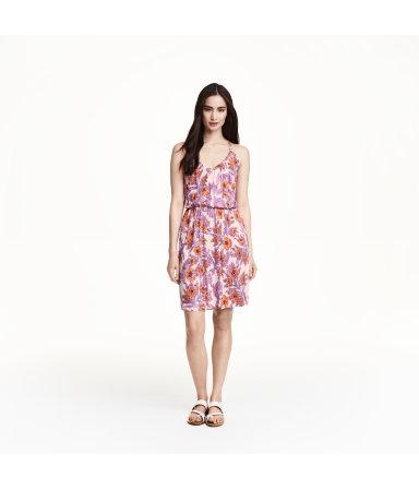 Трикотажное платье (Пудра/цветы)