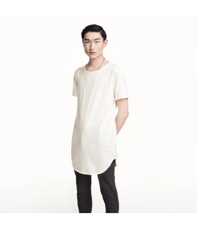 Длинная футболка (Натур.белый)