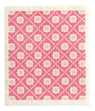 Посудное полотенце (Розовый)