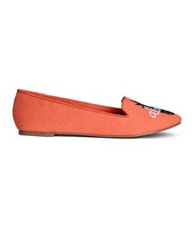 Балетки (Оранжевый)